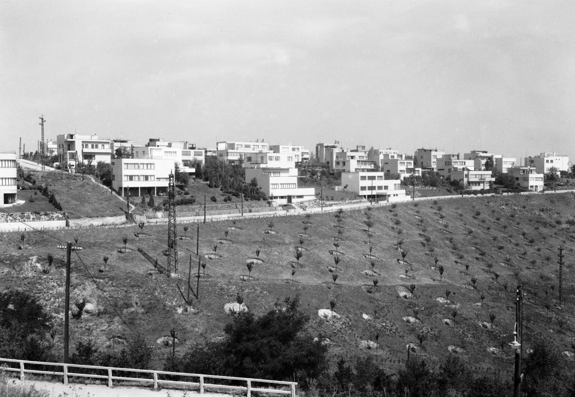 the Baba estate after completion, 1932