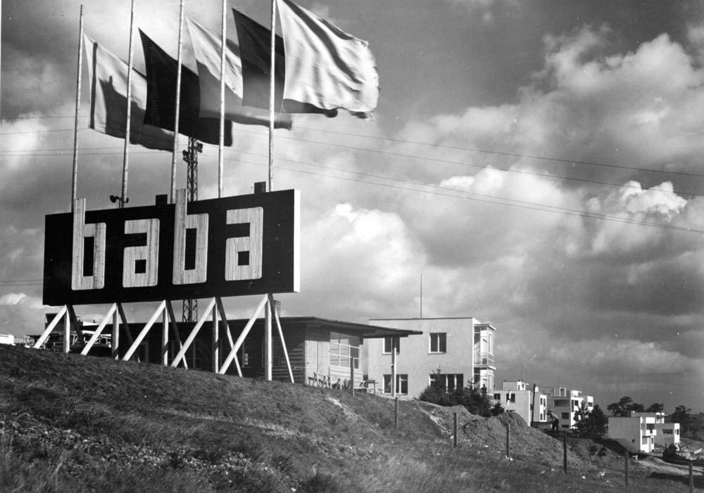 Baba exhibition housing estate, 1932